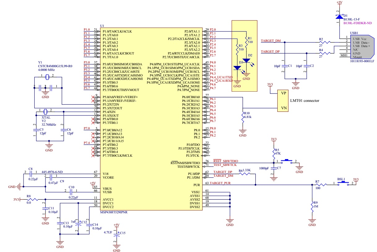 MSP430 RTC